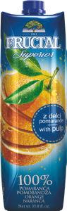 Sok Fructal, pomaranča, 1l