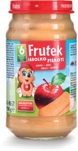 Frutek, jabolko, piškoti, 190g