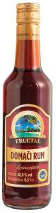 Rum Fructal, domači, alk.40 vol%, 0,5l