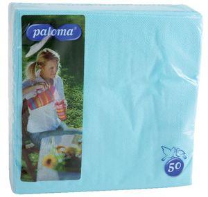 Serviete Paloma, barvne, 2 sl., 40×40, 50/1