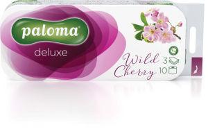 Toaletni papir Paloma, wild cherry, 3 slojni, 10/1