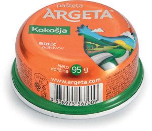 Pašteta Argeta, kokošja, 95 g