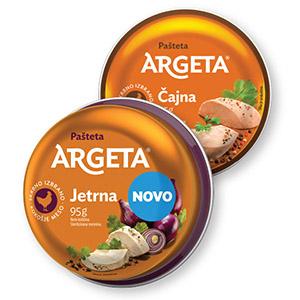 Pašteta Argeta, 95g, čajna ali kokošja jetrna