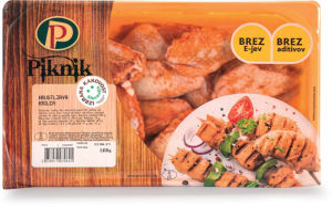 Piščančja krilca, hrustljava IK, 800 g