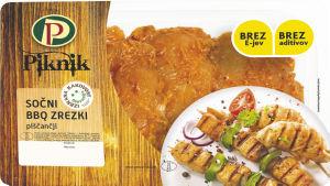 Piščančji sočni BBQ zrezki, IK, 500 g