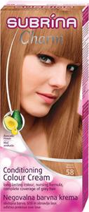 Barva za lase Subrina, Charm, medena, 58