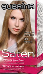 Barva za lase Subrina, saten 08, blond