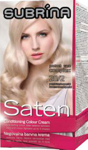 Barva za lase Subrina, saten 20/2, bis.blond