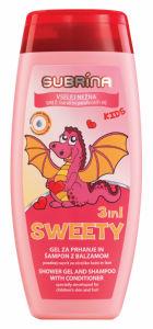 Šampon&balz.Subrina, Kids, sweety, 250ml