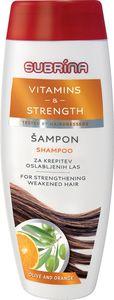 Šampon Subrina, Vitamines & strength, 300ml