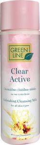 Čistilno mleko Green line, Clear active,200ml
