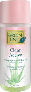 Odstranj.ličil Green line, Clear active,150ml