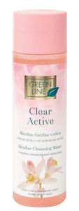 Micelna vodica Green line, Clear active,200ml