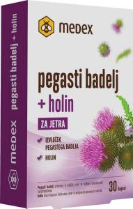 Prehransko dopolnilo Pegasti Badelj, 30 kapsul