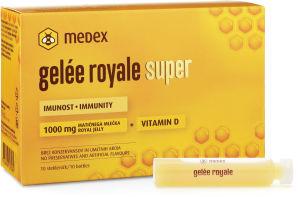 Fiole Gelee Royale Super, mat. mleček, 10x9ml