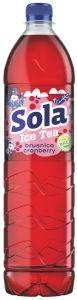 Ledeni čaj Sola, brusnica, 1,5l