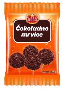 Mrvice Kraš, čokoladne, 100g