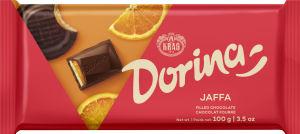 Čokodala temna Dorina, Jaffa, polnjena, 100g
