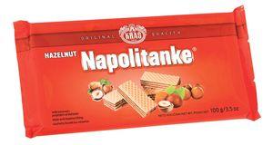 Napolitanke lešnik, 100g