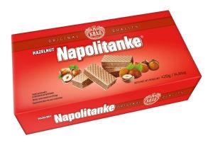 Napolitanke Kraš, lešnik, 420g