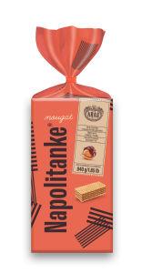 Napolitanke Nougat, lešnikova krema, 840 g