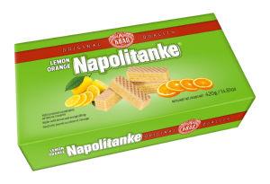 Napolitanke Kraš, sadne, 420g