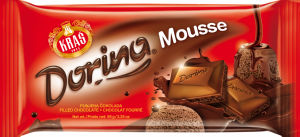Čokolada ml.Dorina, mousse, 95g
