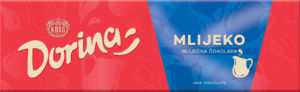 Čokolada mlečna, Dorina, 220g