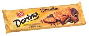 Čokolada mlečna Dorina z Domačica keksi, 300g