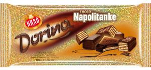 Čokolada Dorina, čokoladna napolitanka, 100g