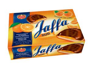 Biskvit Jaffa duo, pomaranča, 250g