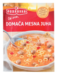 Juha Podravka, mesna, domača, 70g