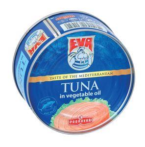 Tuna Eva, kosi v rastlinskem olju, 120 g