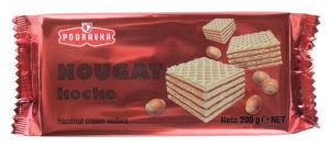 Napolitanke Nougat kocke, 200g