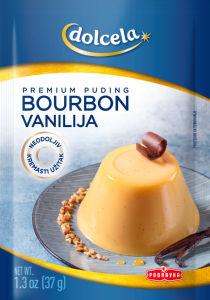Puding Dolcela, vanilija, bourbon, 37 g