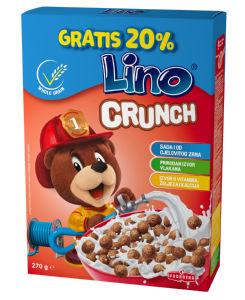 Žitarice Lino crunch, 225 g + 20% GRATIS