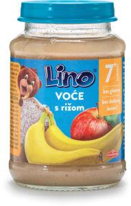 Kašica Lino, sadje z rižem, 190g