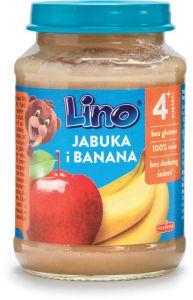 Kašica Lino, jabolko, banana, 190g