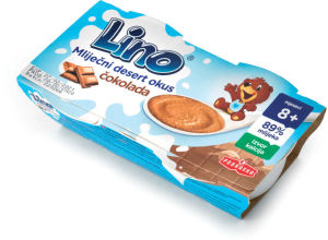Desert Lino, mlečni, čokolada, 200g