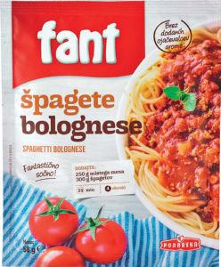Fant mešanica za špagete bolognese, 58g
