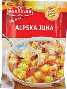 Juha alpska, 64g