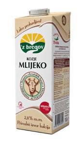 Kozje mleko Vindija, 3% m.m., 1l
