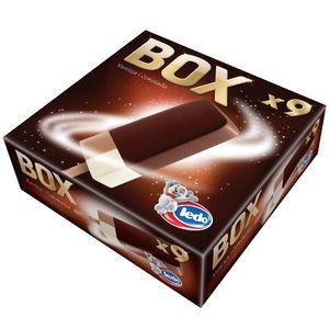 Sladoled Box, palčka, 9x65ml
