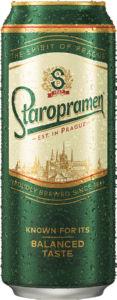 Pivo Staropramen, alk.5 vol%, 0.5l