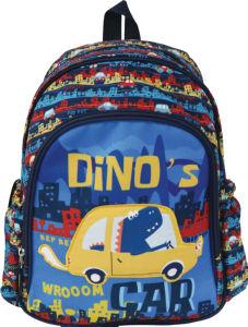 Nahrbtnik, kids, big dino's car