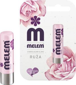 Balzam za ustnice Melem, ruža, 4.5g