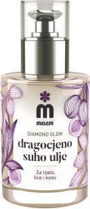 Olje Melem suho Diamond glow, 100ml