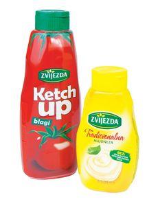 Ketchup Zvijezda+ majoneza gratis, 1kg+400g