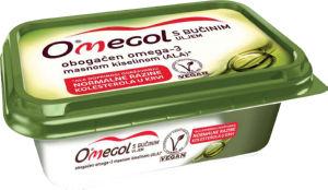 Margarina Omegol, z bučnim oljem, 225g