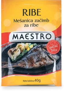 Mešanica začimb Maestro, riba, 40g